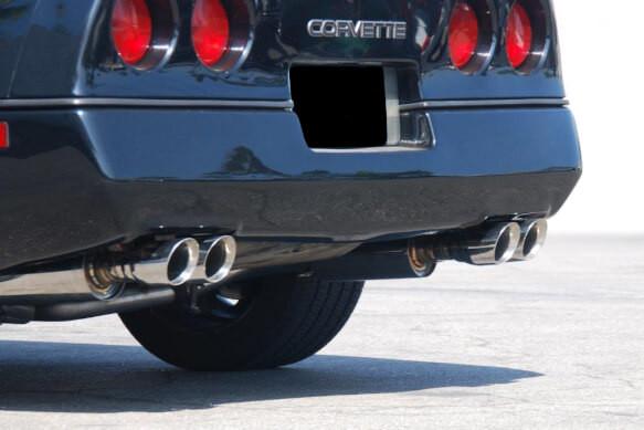 1992 1996 c4 corvette 5 7l 2 1 2 304ss axle back exhaust system flowtech