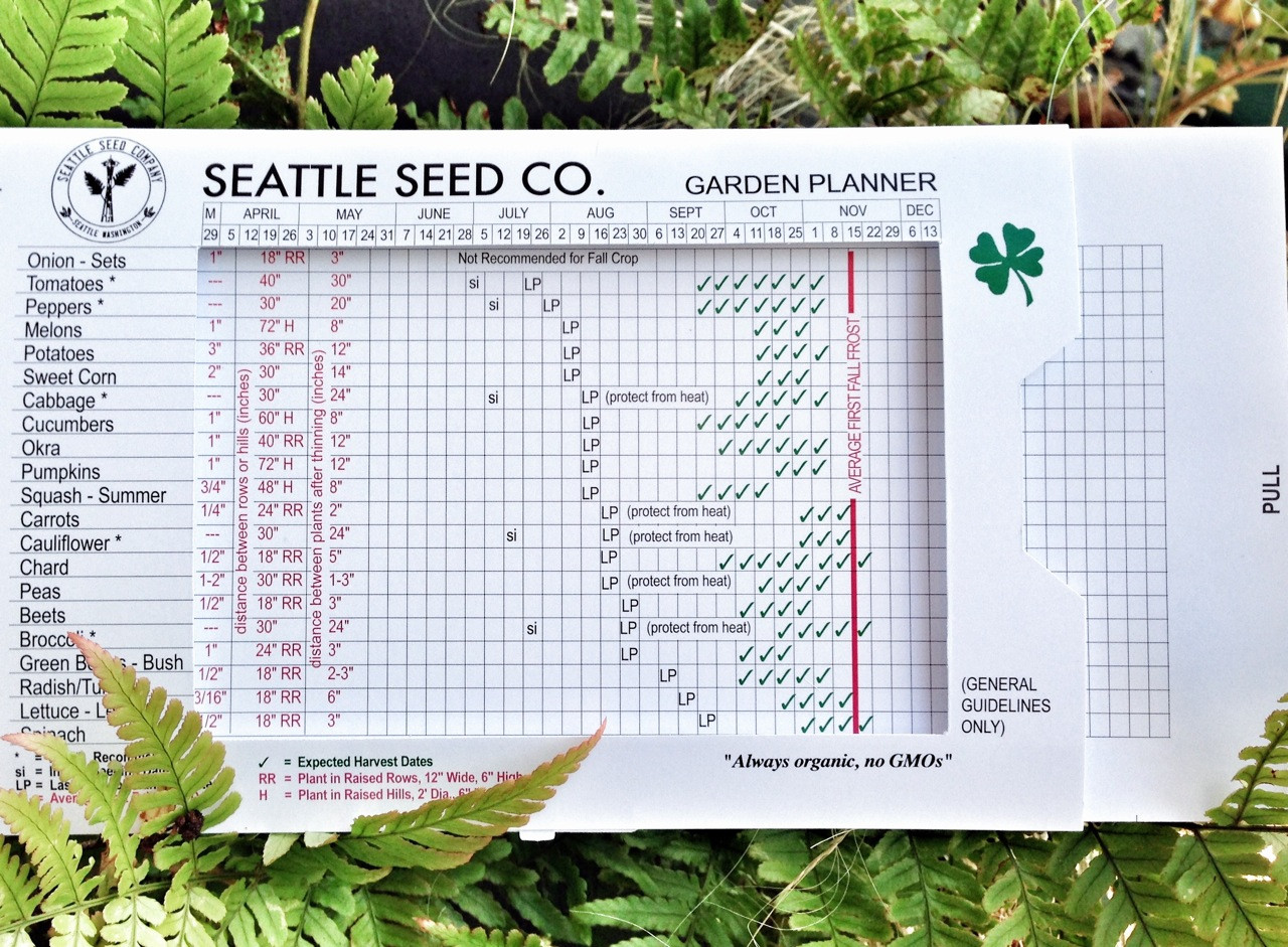 Year-Round Garden Planner from Seattle Seed Co. on Patio Planner id=93321