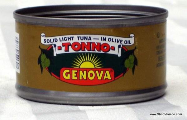 Tuna Fish Genova 3oz Viviano Sons Online Store