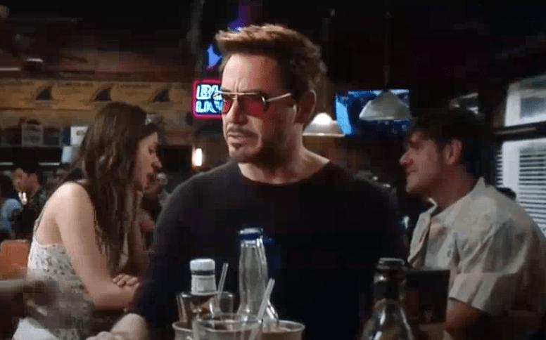 Robert Downey Jr MATSUDA M3023 Sunglasses Custom Red