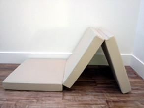 Tri Fold Mattress Z Memory Foam 3 Way Folding Bed In