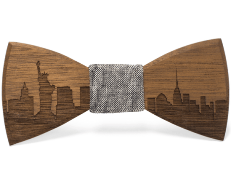 Our Most Popular Wooden Men s Accessories   Two Guys Bow Ties Next up  is our lines of Skyline wooden bow ties  Though we do offer a  custom option for these ties  therefore any wood type we offer can be  used