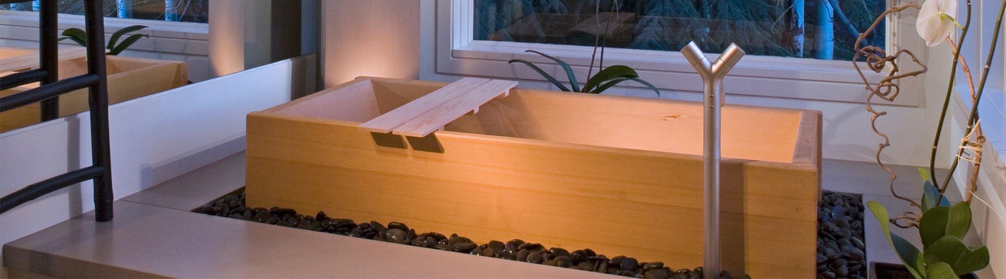 Cedar Hot Tub Japanese Soaking Tubs Free Standing Bathtubs Zen Bathworks