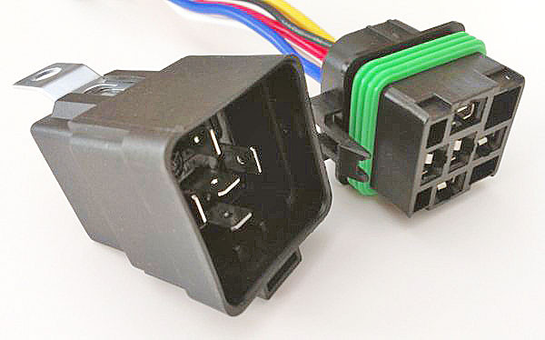 Waterproof 5 Pin 30 40 Amp Relay With Connector