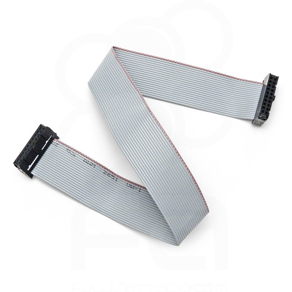 12 Inch 12 Header Pvc Floppy Ribbon Cable