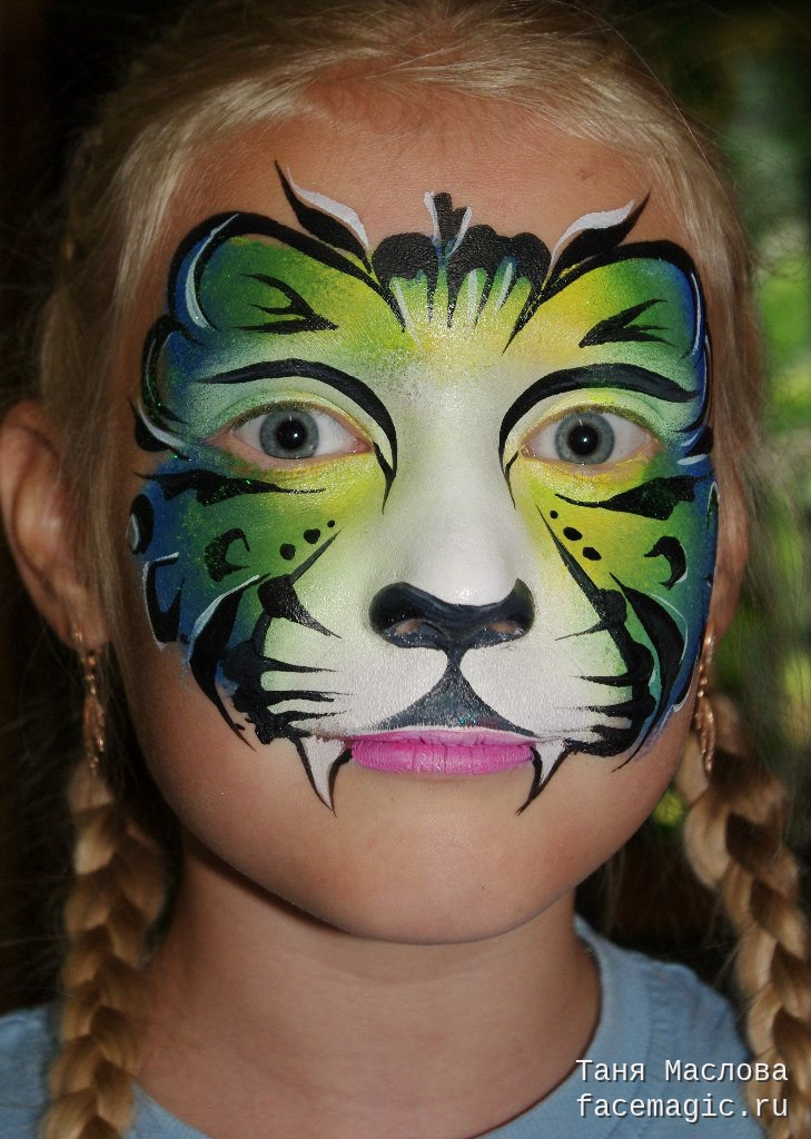 5 Of The Coolest Cat Face Painting Designs Face Paint