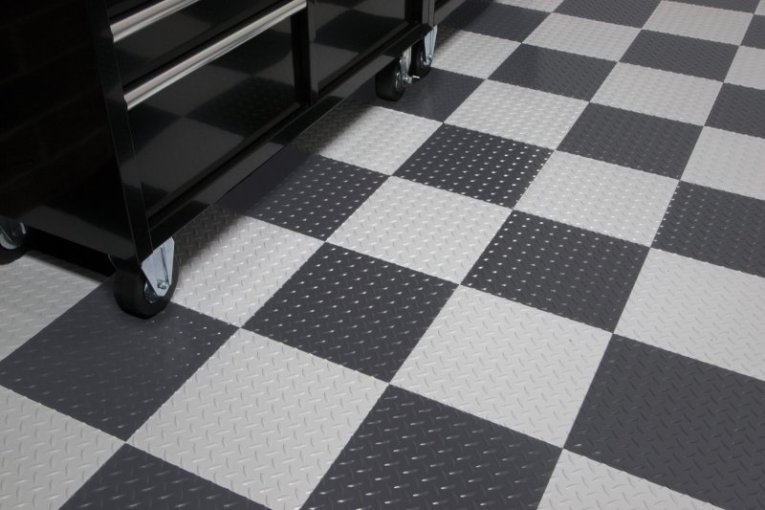 RaceDay Peel and Stick Self Adhesive Floor Tiles by G Floor RaceDay       G Floor Peel and Stick Tiles   RaceDay Self Adhering Tiles