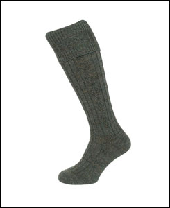 Hoggs of Fife Country Cable Stockings