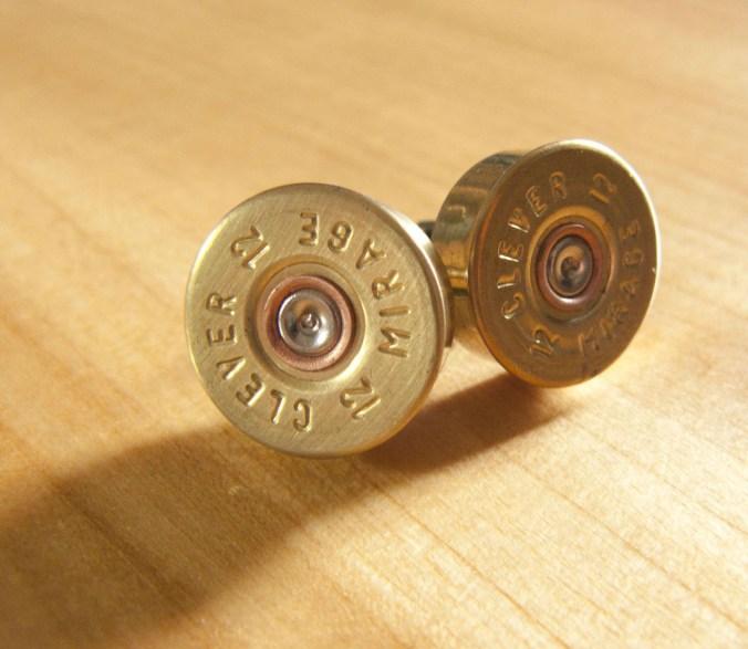Jamie Boult 12 Bore Shotgun Cartridge Cufflinks