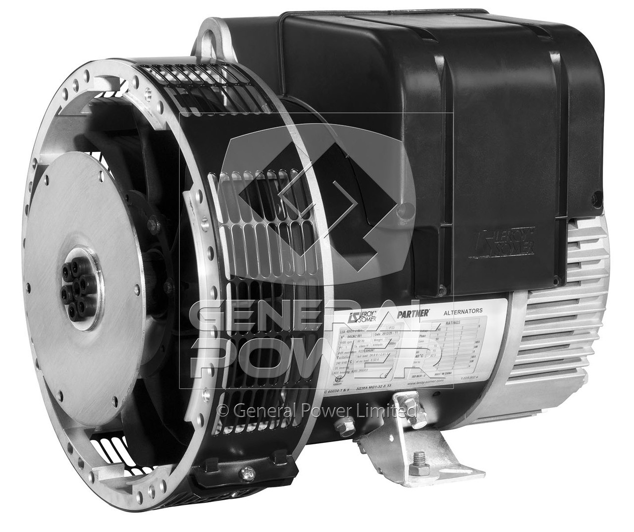 Leroy Somer LSA 423 M7 Alternator | Leroy Somer Generator