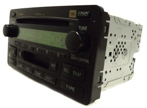 TOYOTA Sequoia JBL Radio Stereo 6 Disc Changer Tape