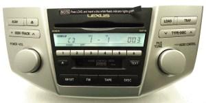 05 06 07 08 LEXUS RX Radio 6 Disc Changer MP3 CD Player