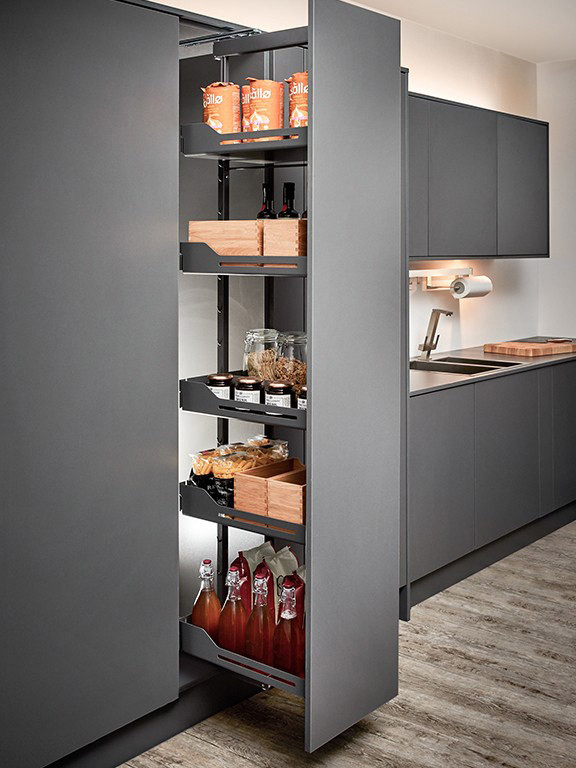 Pull Out Larder Mechanism