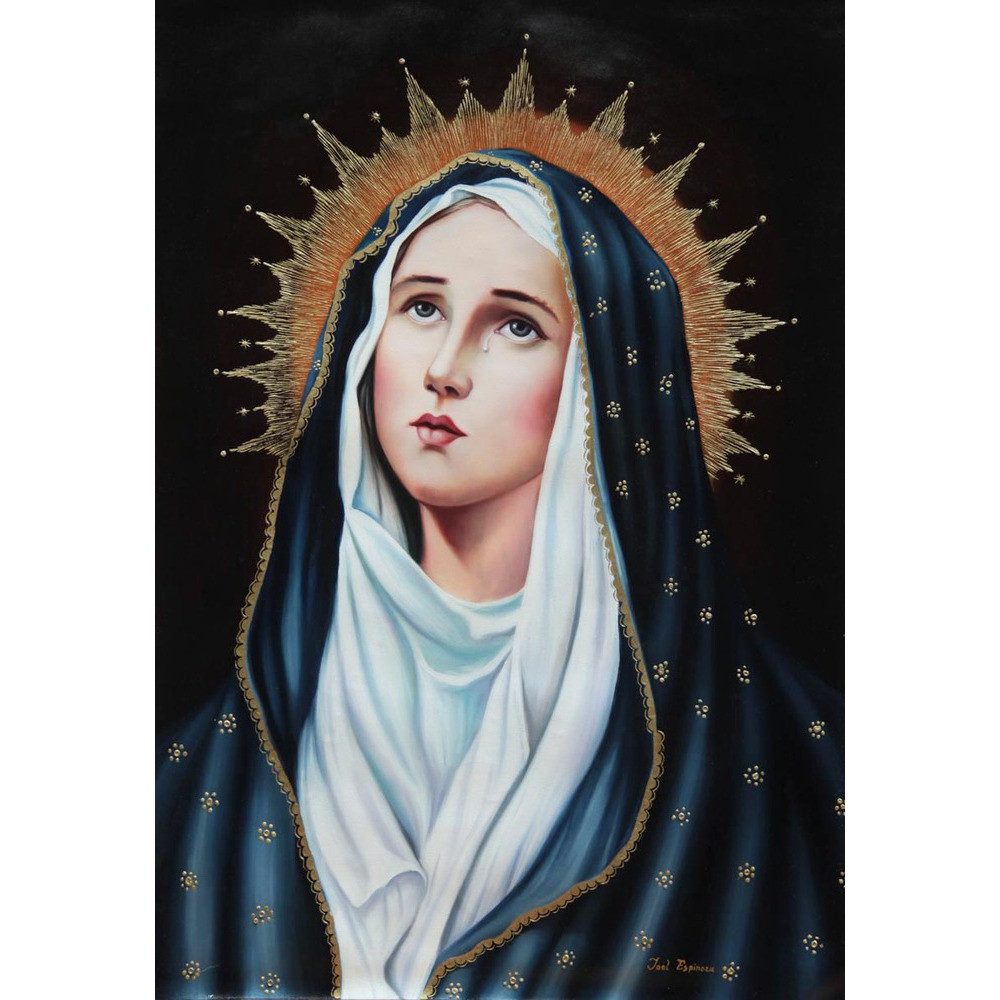 Image result for virgin mary painting