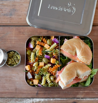 LunchBots Bento Stainless Container  - Duo