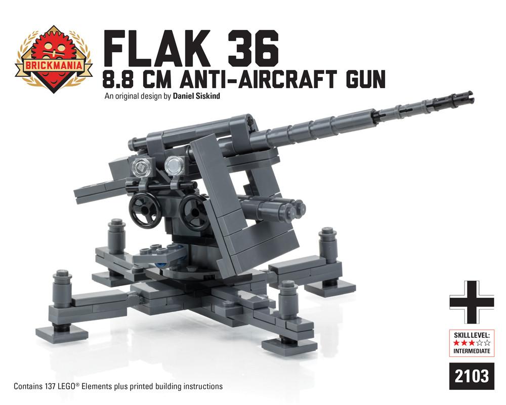 Flak 36 8.8cm Anti-Aircraft Gun