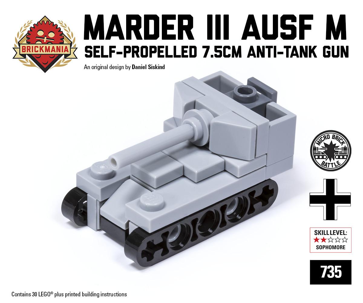 Marder III Ausf M Micro-gun