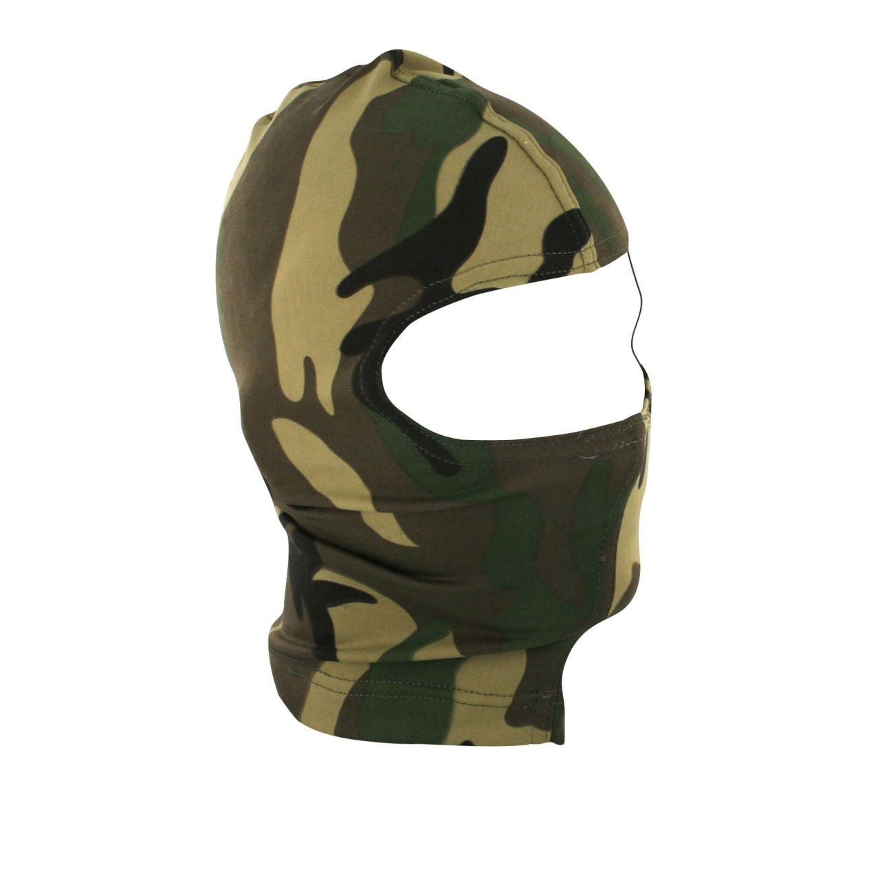 Woodland Camouflage Stretch Fabric