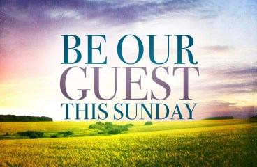 Image result for be our guest this sunday