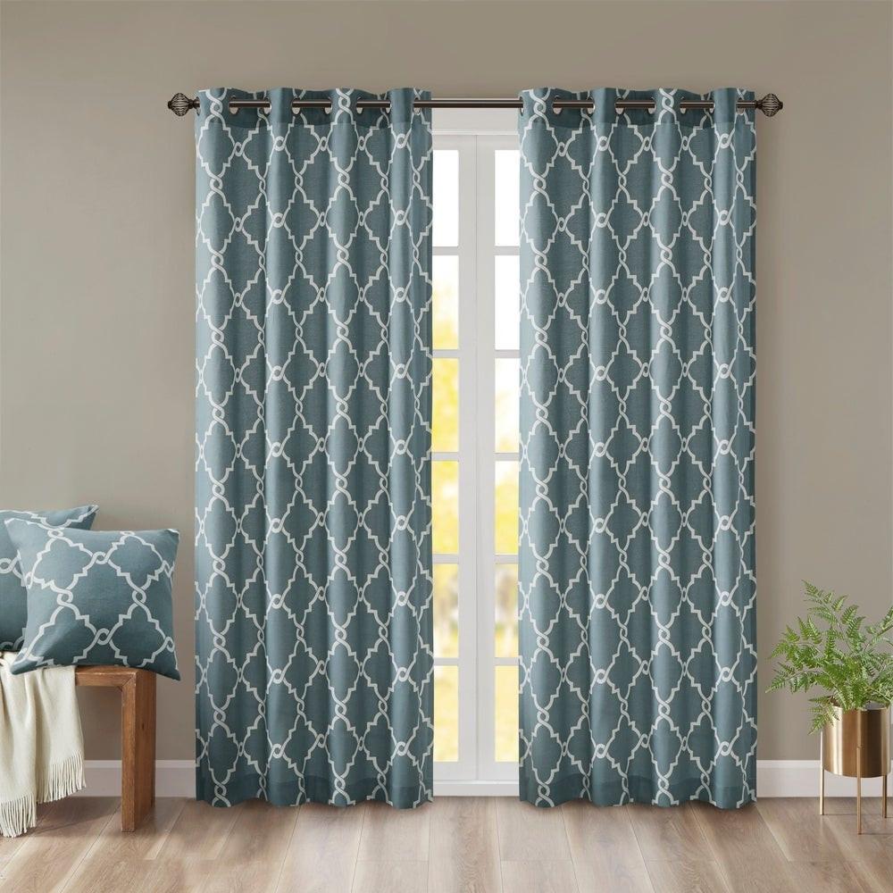 westmont fretwork print pattern single