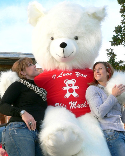 American Made Biggest Teddy Bear In The World 8 Feet Tall