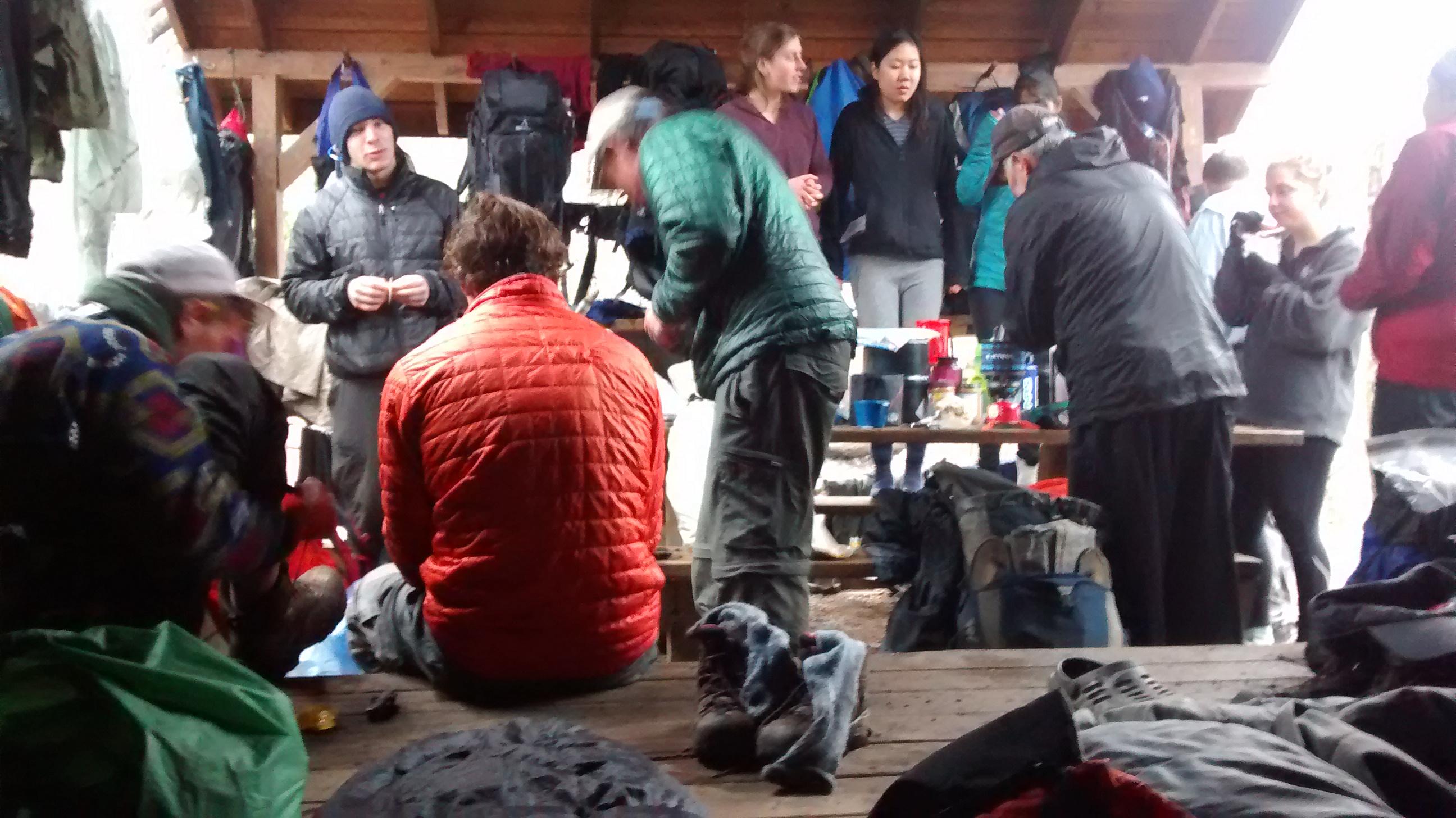 Day 3: Hawk Mountain to Gooch Mountain