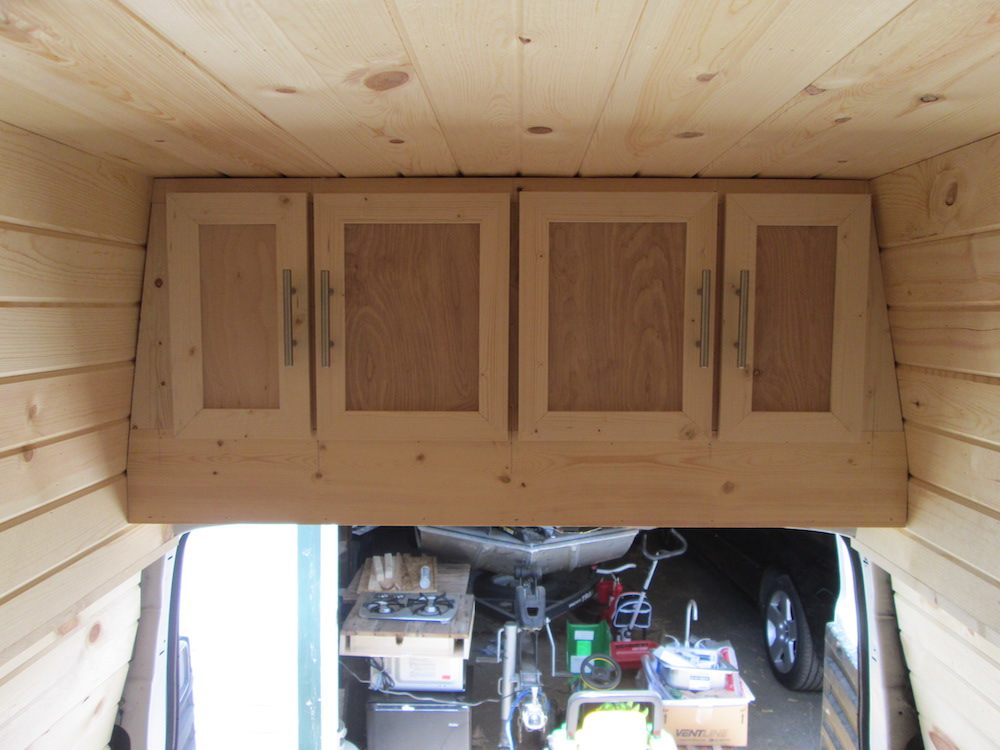 Building the Ceiling Cabinets (Part 2)