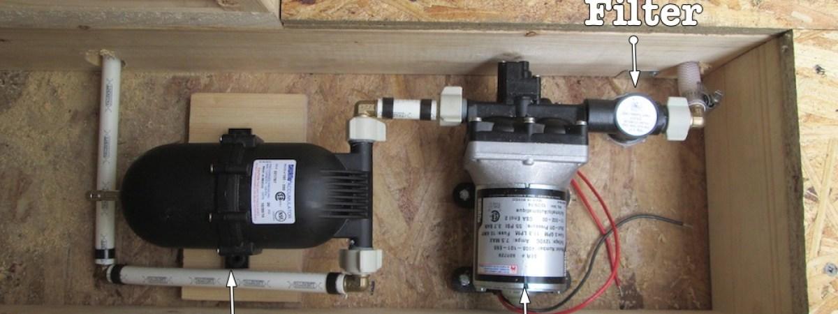 Water Pump / Battery Box