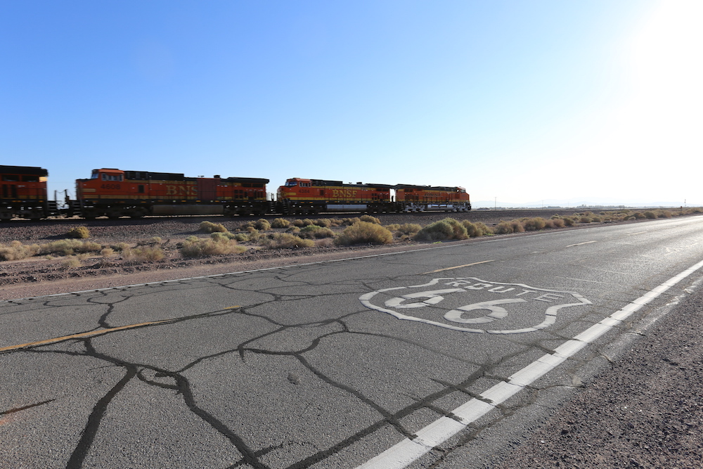 Route 66: Barstow, CA to Kingman, AZ