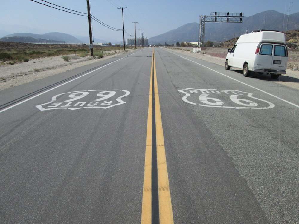 Route 66: Santa Monica, CA to Barstow, CA