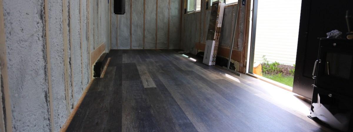 Tiny House: Flooring