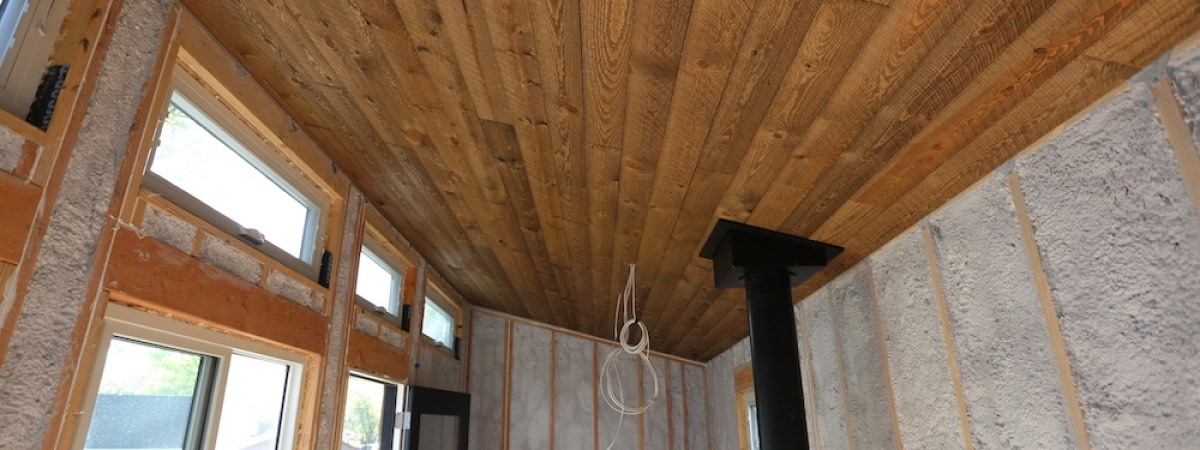 Tiny House: Ceiling