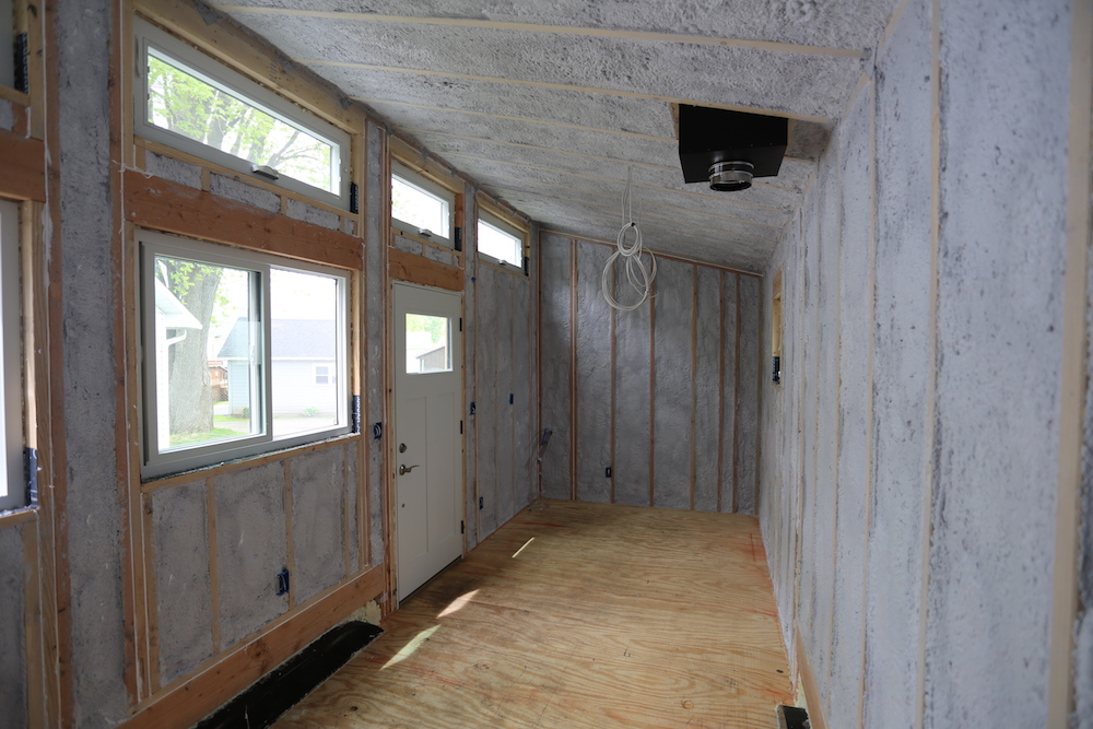 Tiny House: Insulation