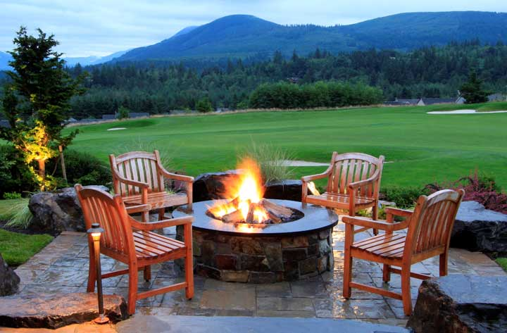 5 Fire Pit Designs Trending in the Pacific Northwest ... on Mountain Backyard Ideas  id=38580
