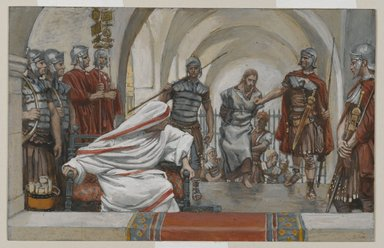 Jesus Led from Herod to Pilate (James Tissot, 1886-1894)