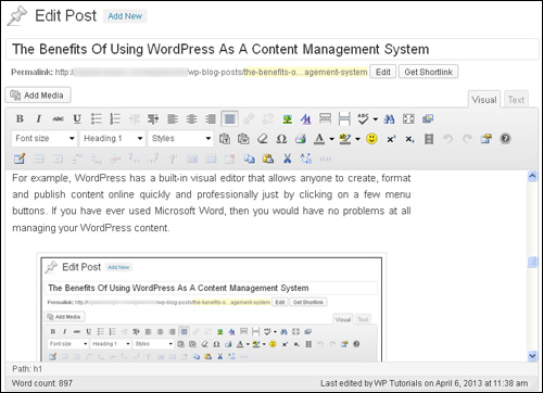 The Benefits Of Using WordPress As A Content Management System image wpt0077002