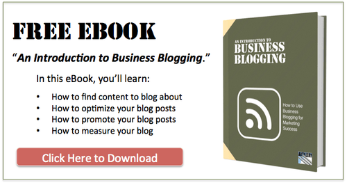Business Blogging eBook