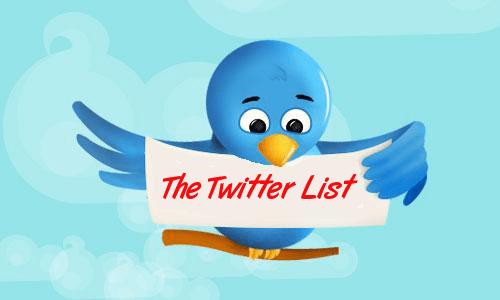 Twitter list