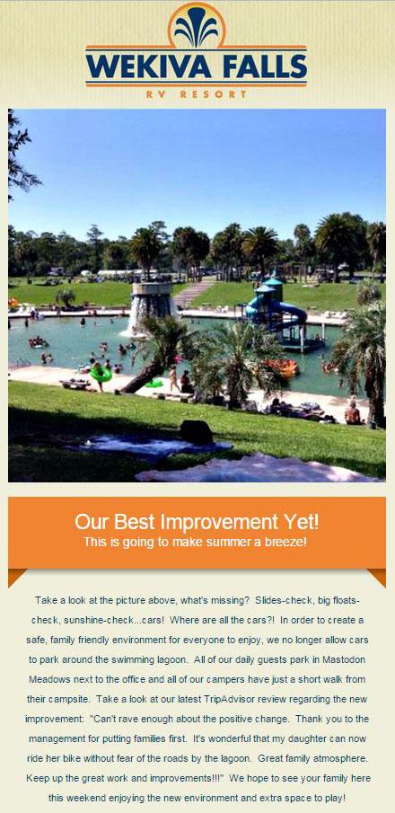 Big News - Wekiva Falls Resort