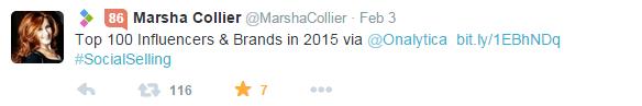 marsha collier_tweet