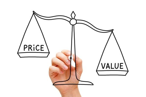 bigstock Value Price Scale Concept 81535118