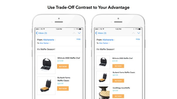 Use Trade-Off Contrast to Your Advantage