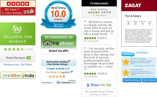 Reduce bounce rate website widgets