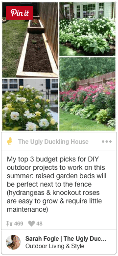 DIY outdoor projects pin