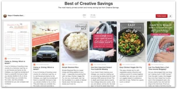 best of creative savings