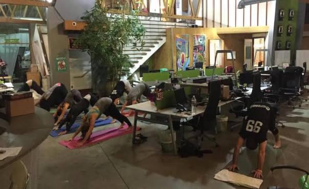 on site yoga