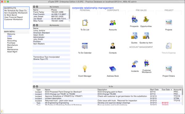 xturple homepage screenshot