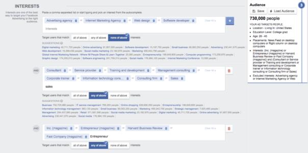FB Interests