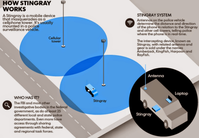 stingrays and Phone Surveillance