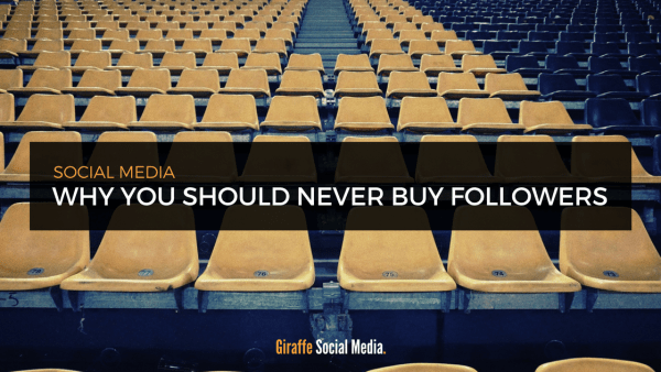 why you should never buy followers